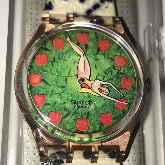 Swatch Other - Swatch Watch First 🍎GP108 Vintage 1994 Adam & Eve